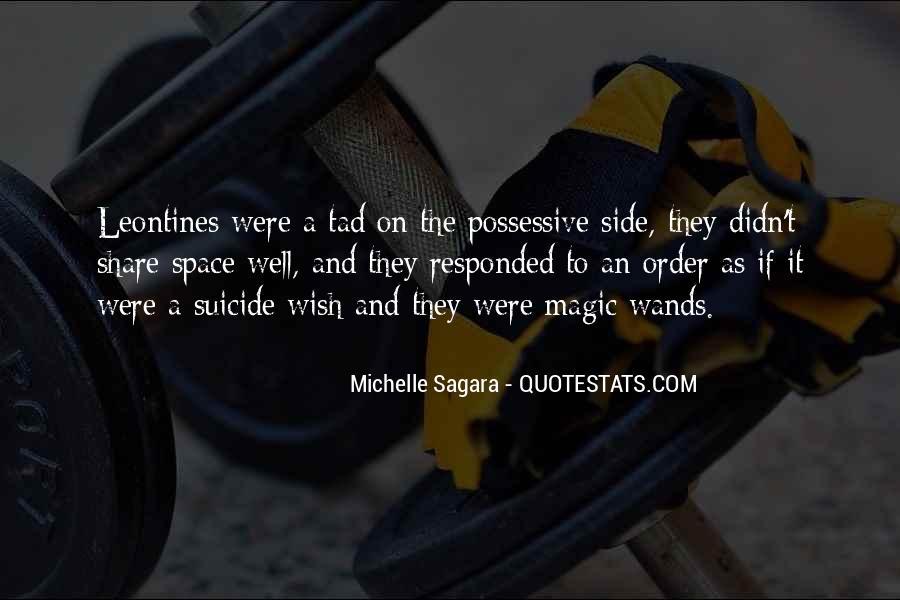 Michelle Sagara Quotes #858853