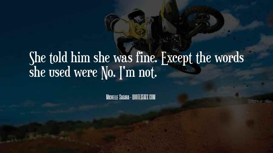Michelle Sagara Quotes #954169