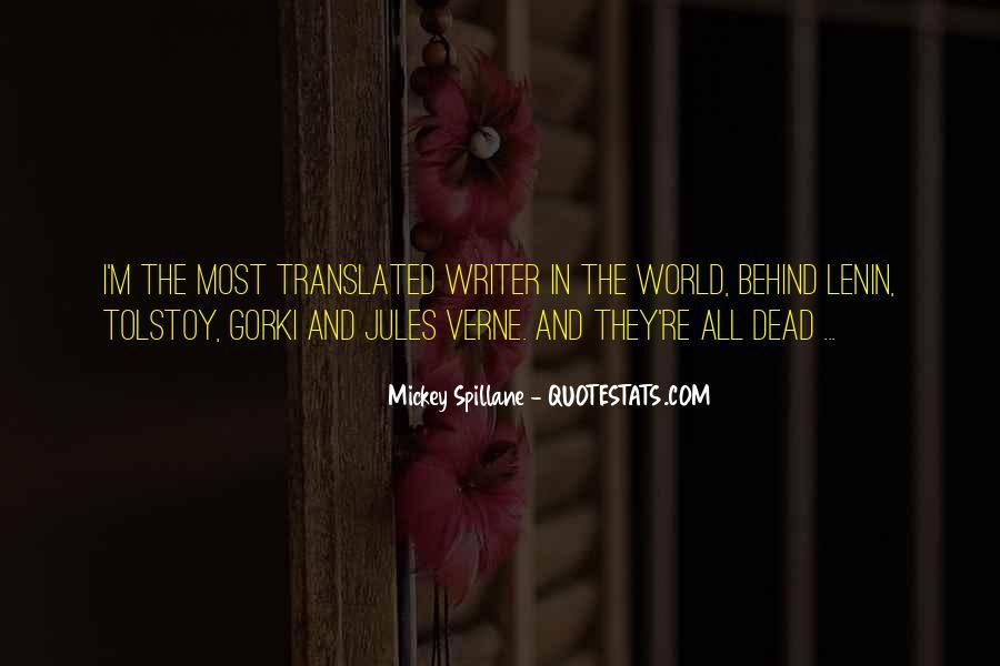Mickey Spillane Quotes #169863