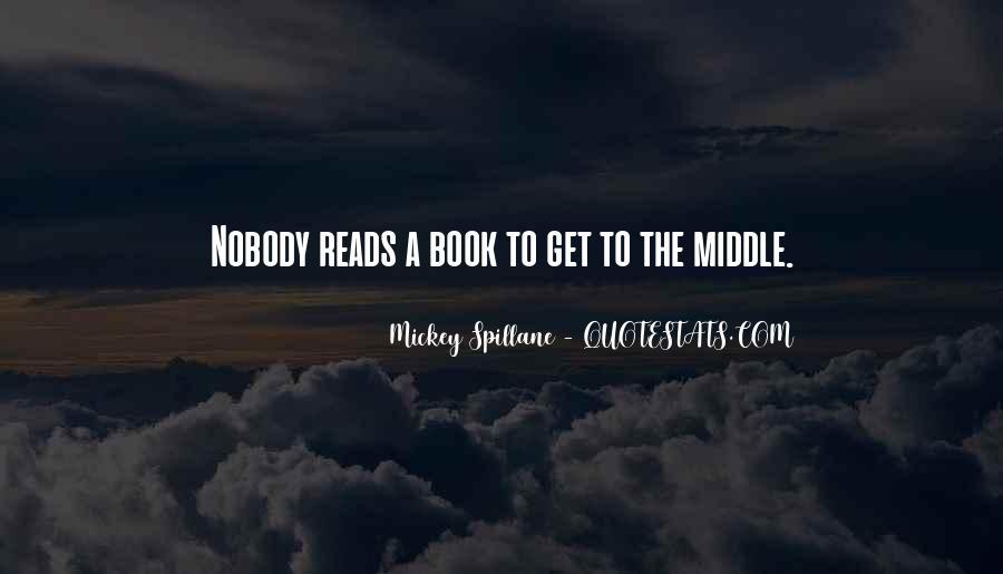 Mickey Spillane Quotes #836160
