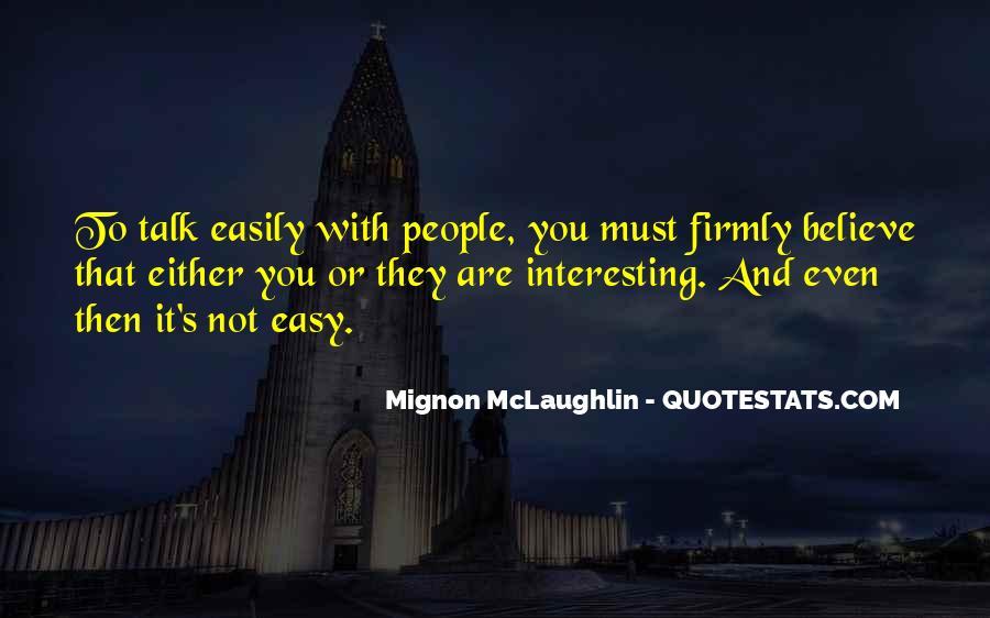 Mignon McLaughlin Quotes #1190074