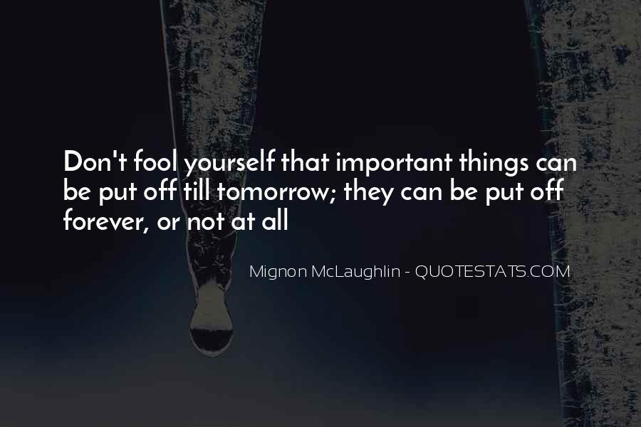 Mignon McLaughlin Quotes #1307937