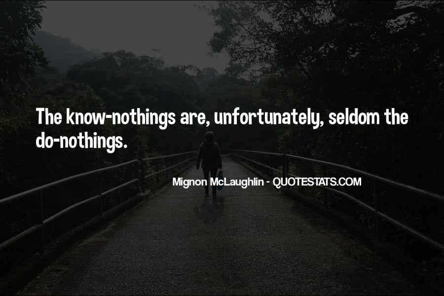 Mignon McLaughlin Quotes #1349735