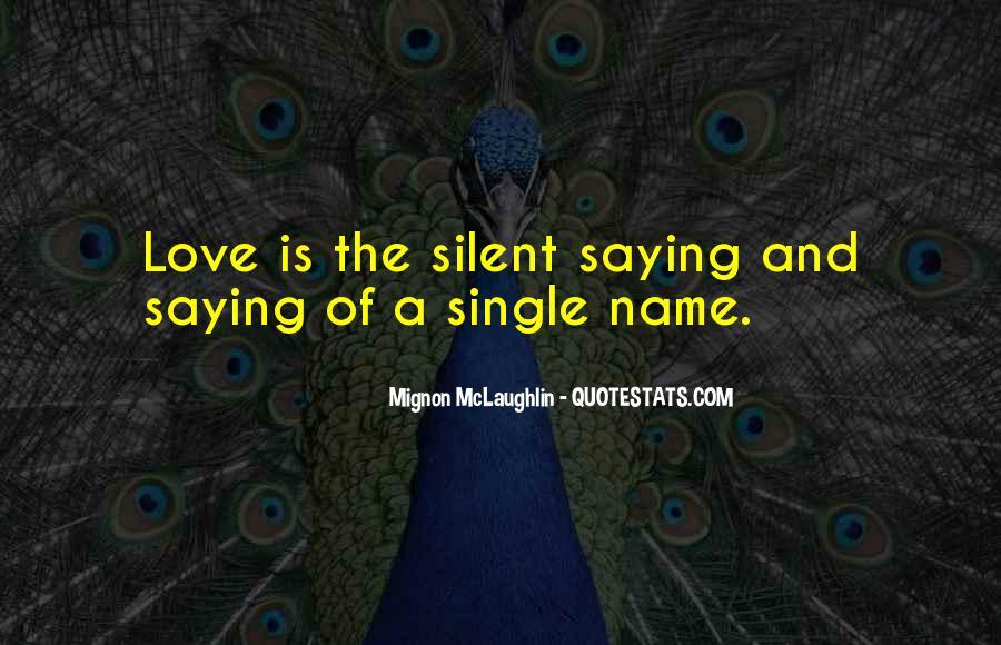Mignon McLaughlin Quotes #1429034