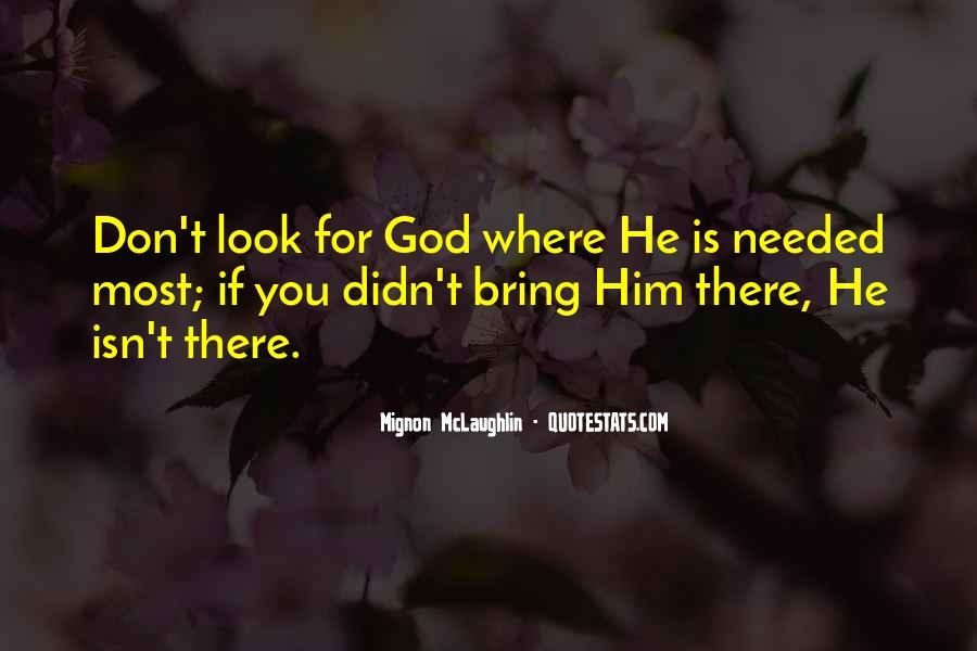Mignon McLaughlin Quotes #1431768