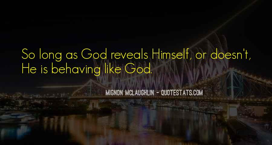 Mignon McLaughlin Quotes #184564