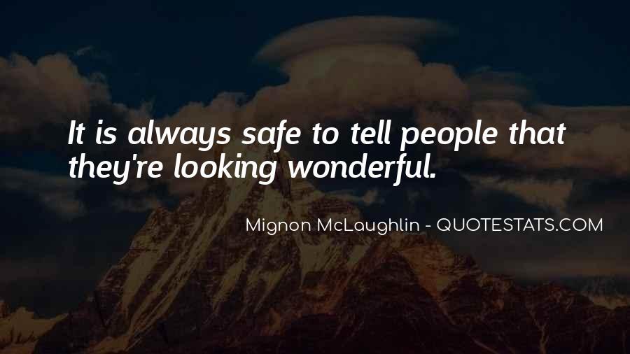 Mignon McLaughlin Quotes #511071
