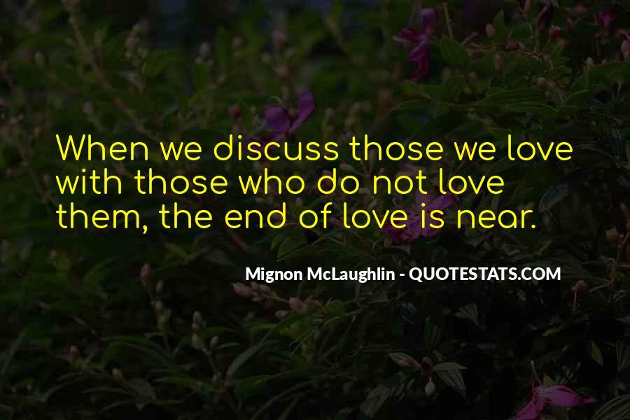 Mignon McLaughlin Quotes #543822