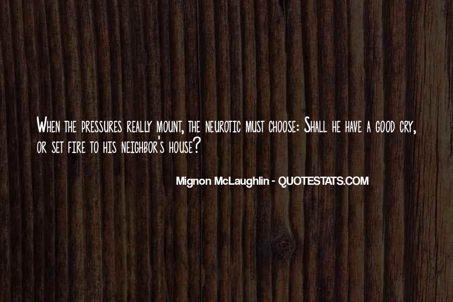 Mignon McLaughlin Quotes #779355