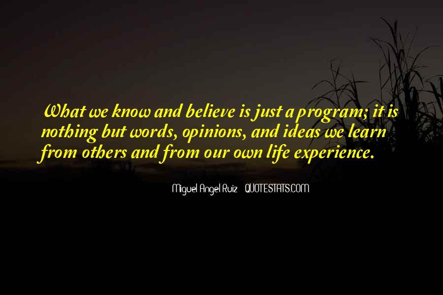 Miguel Angel Ruiz Quotes #844315