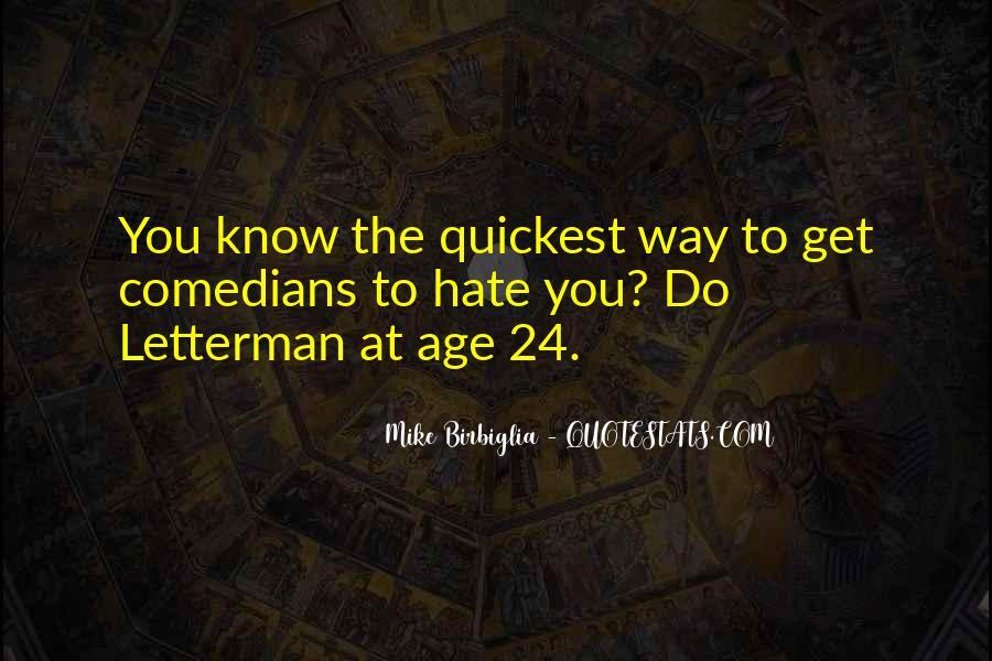 Mike Birbiglia Quotes #241646