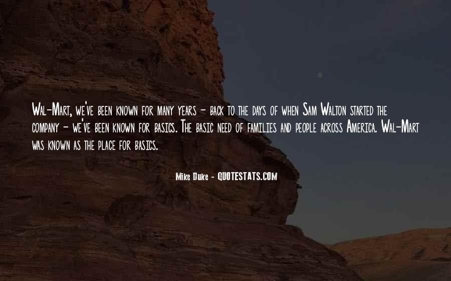 Mike Duke Quotes #1417510
