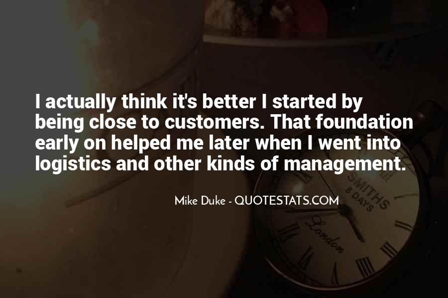 Mike Duke Quotes #631370