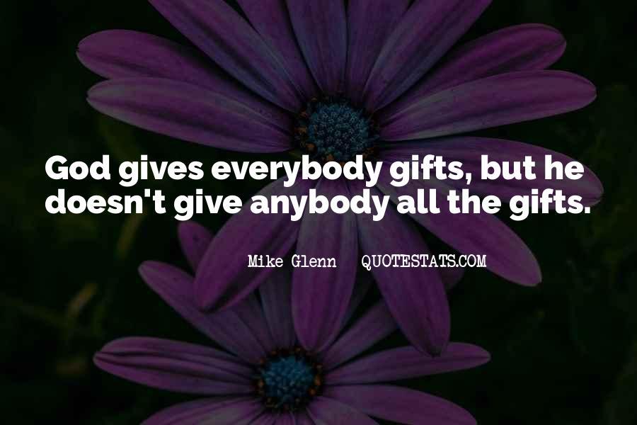 Mike Glenn Quotes #1152649