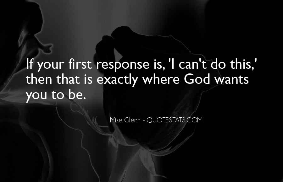 Mike Glenn Quotes #1562971