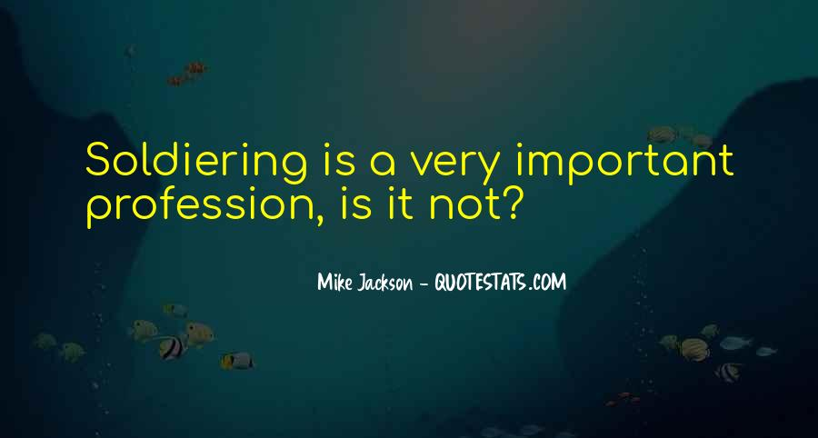 Mike Jackson Quotes #435901