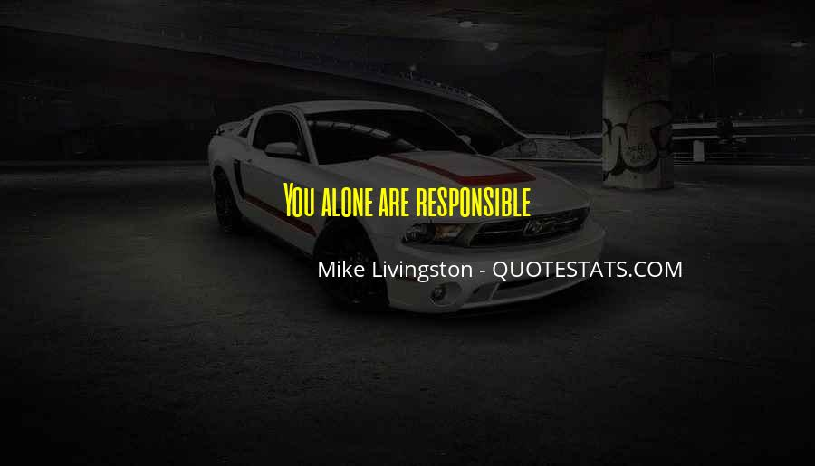 Mike Livingston Quotes #930859