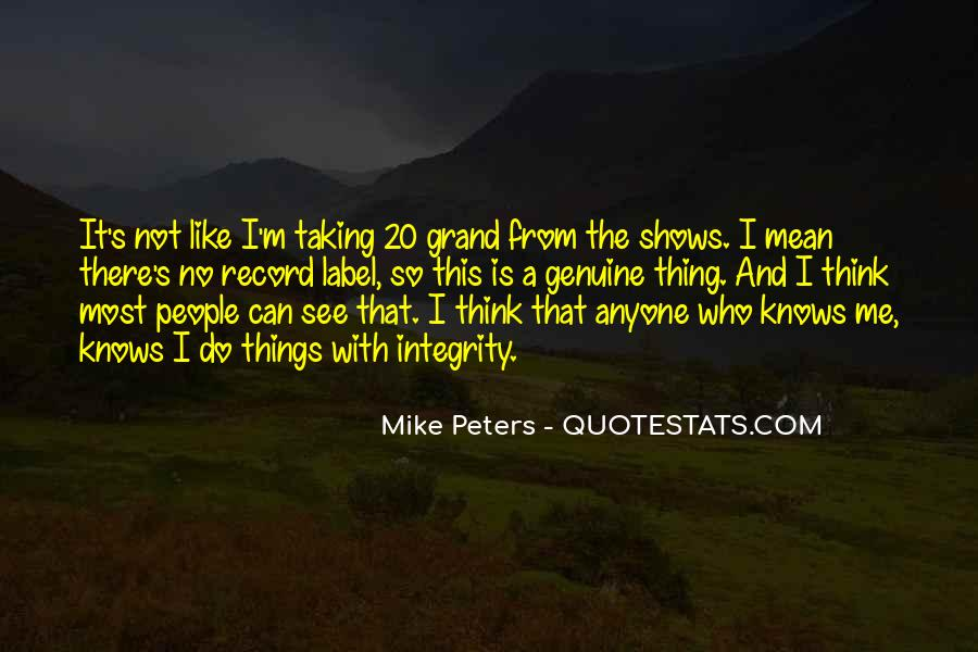 Mike Peters Quotes #1044437