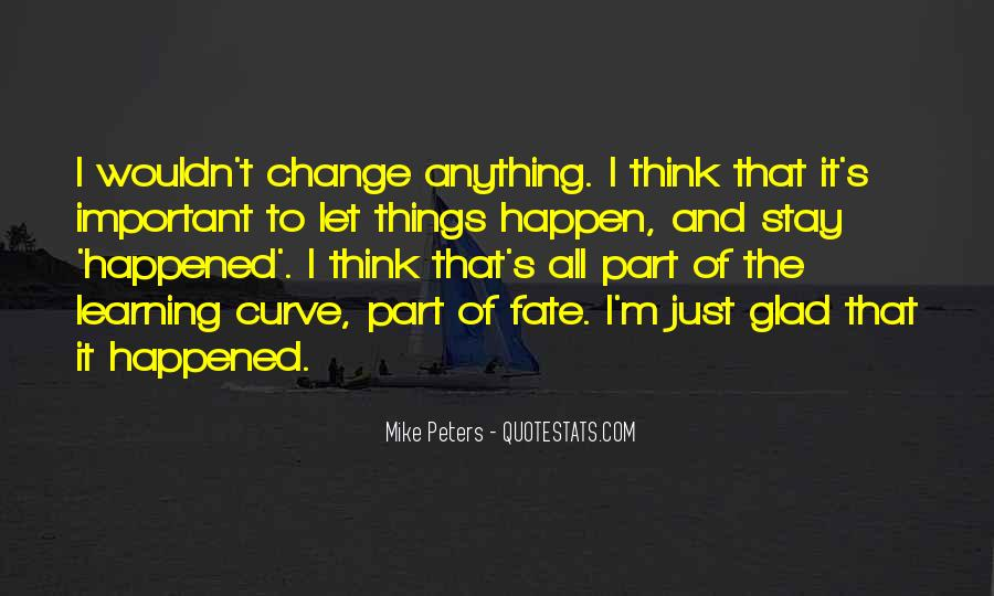 Mike Peters Quotes #1815