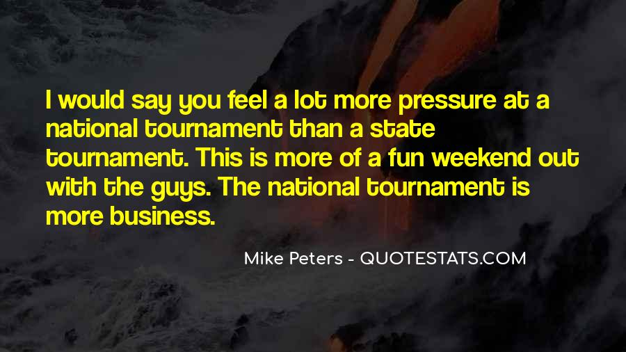 Mike Peters Quotes #914649