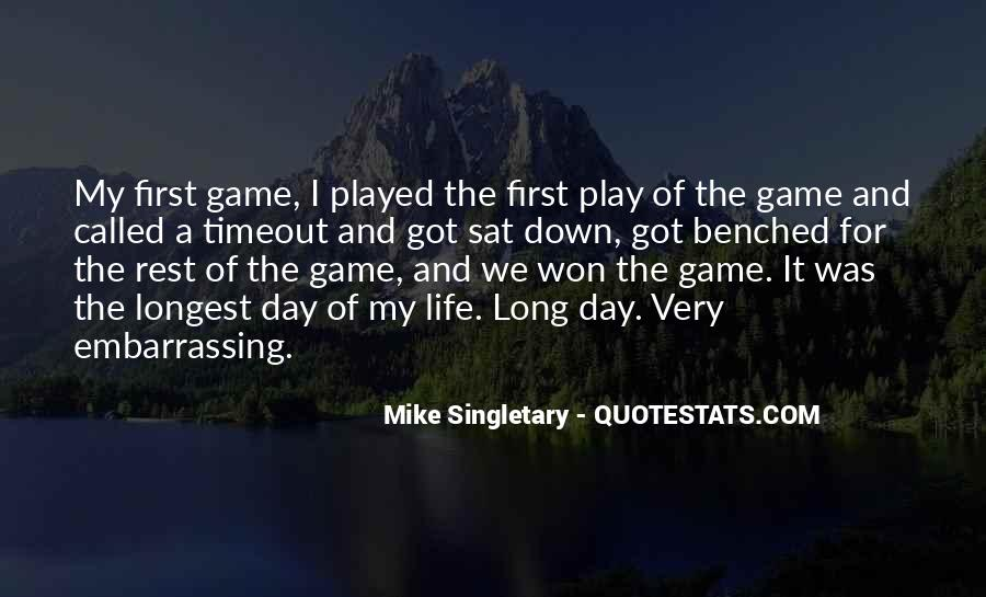 Mike Singletary Quotes #1743080