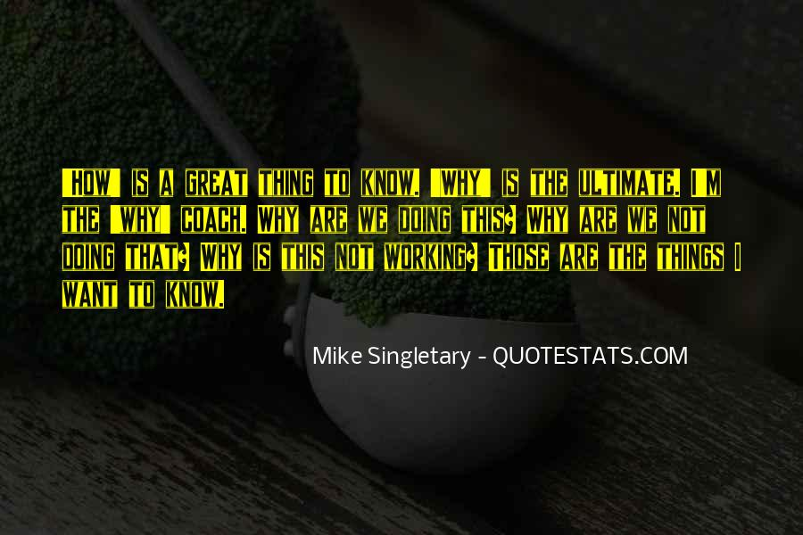 Mike Singletary Quotes #1791167