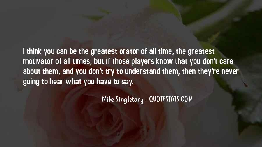 Mike Singletary Quotes #188356