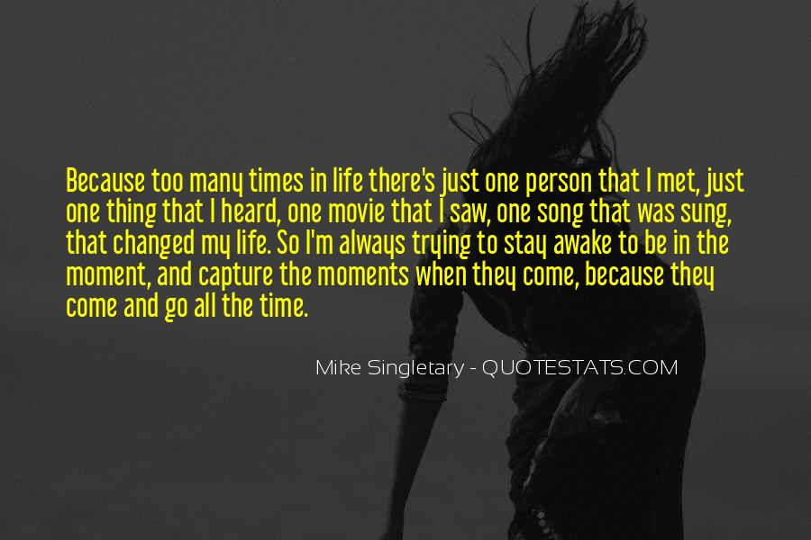 Mike Singletary Quotes #791641
