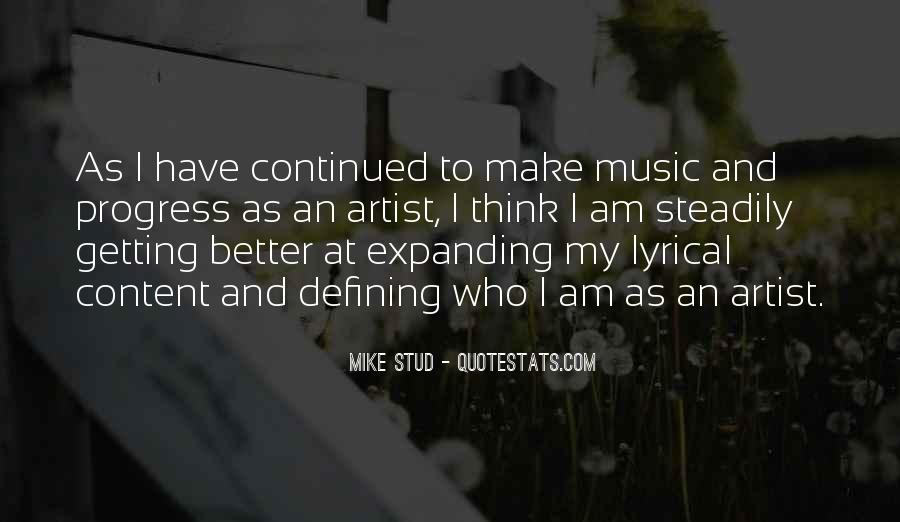 Mike Stud Quotes #594318