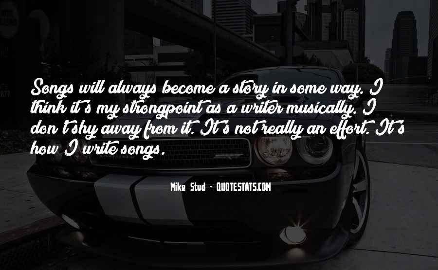 Mike Stud Quotes #961268