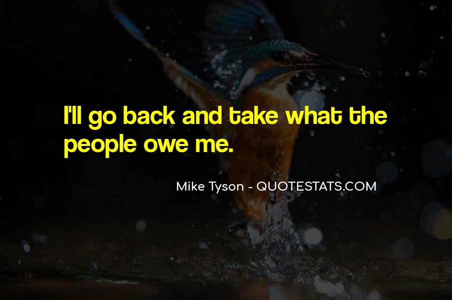 Mike Tyson Quotes #1145759