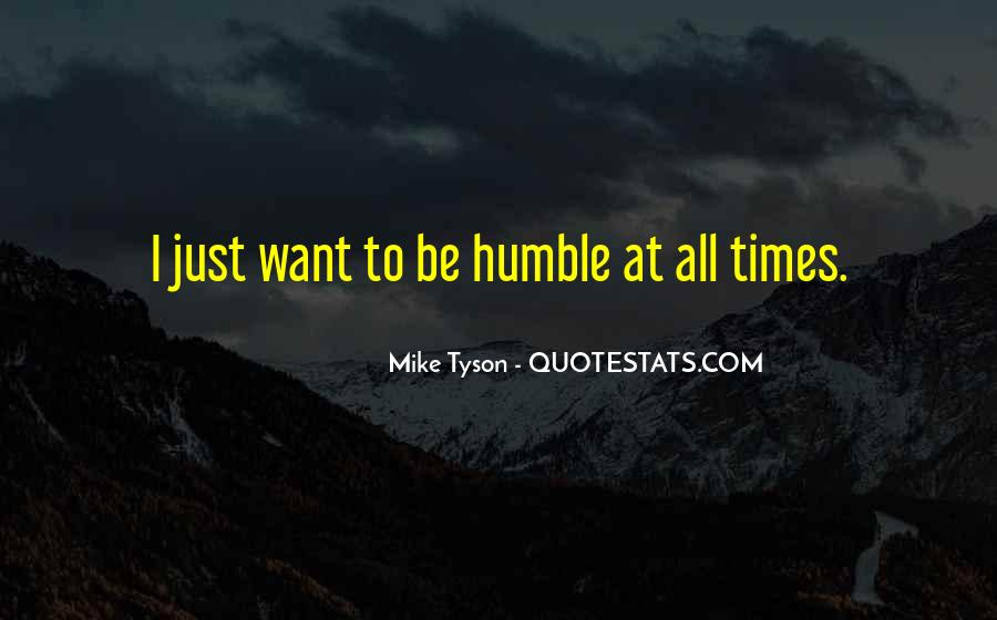Mike Tyson Quotes #695395