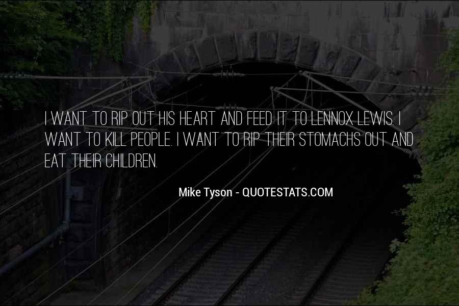 Mike Tyson Quotes #857730
