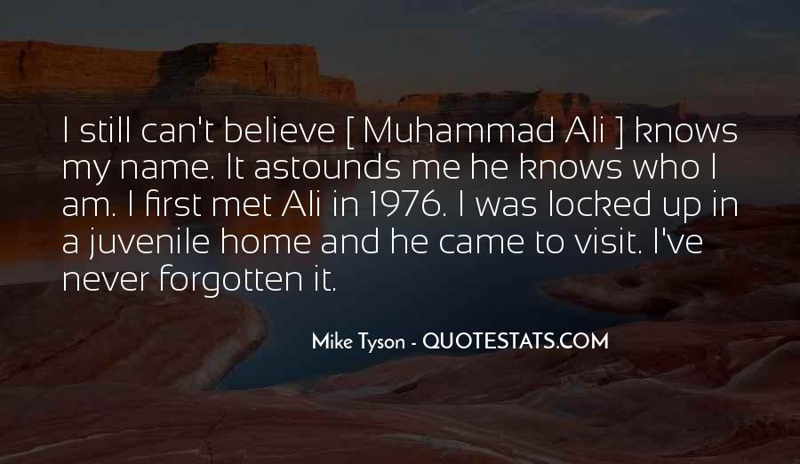 Mike Tyson Quotes #981196