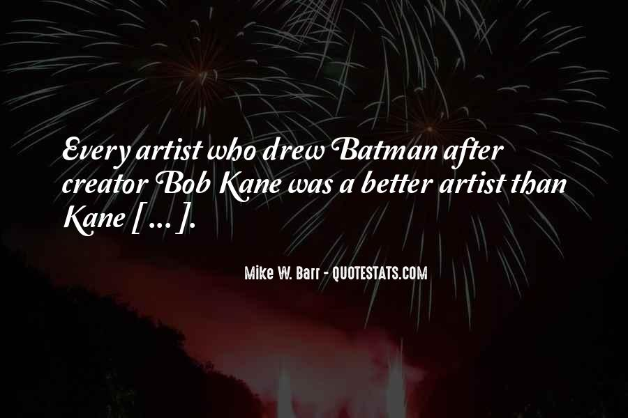 Mike W. Barr Quotes #1860175