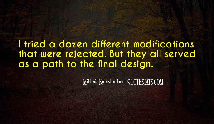 Mikhail Kalashnikov Quotes #1260393