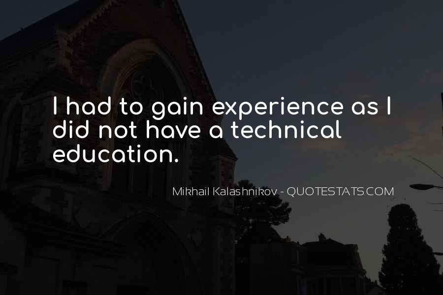 Mikhail Kalashnikov Quotes #665440