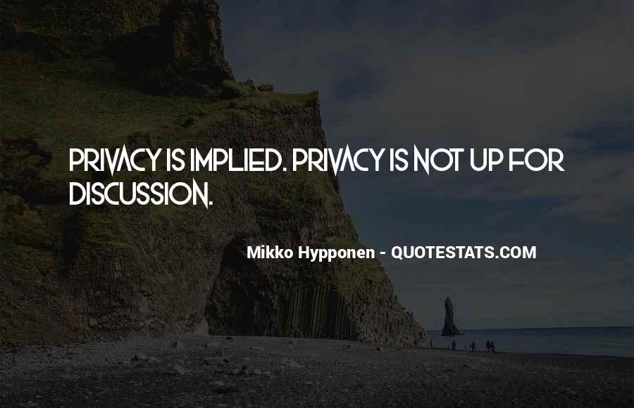 Mikko Hypponen Quotes #1389123