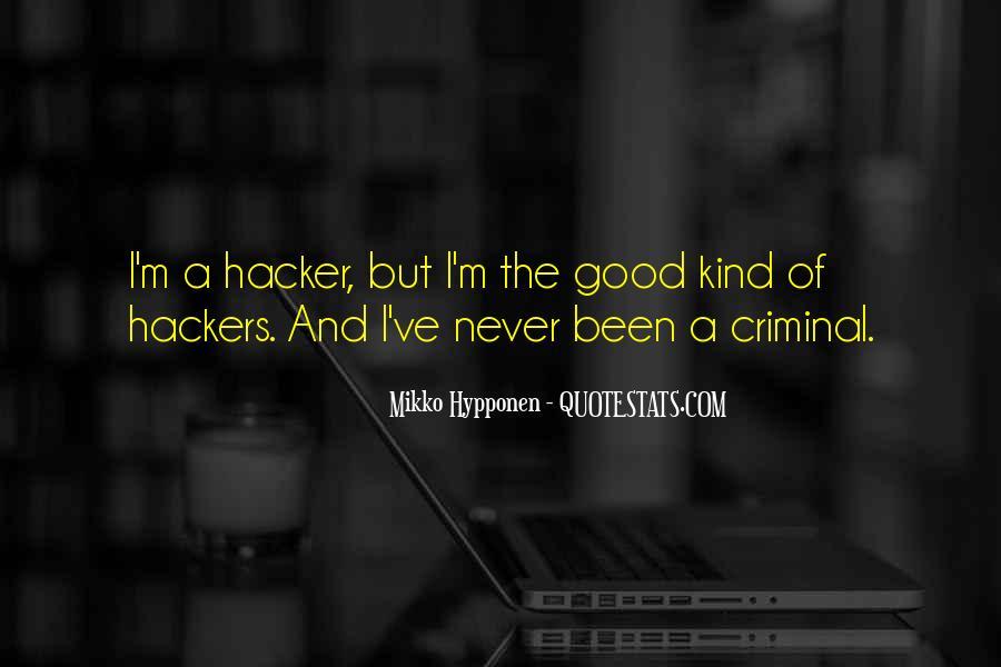 Mikko Hypponen Quotes #383478