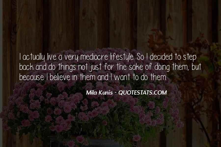 Mila Kunis Quotes #11916