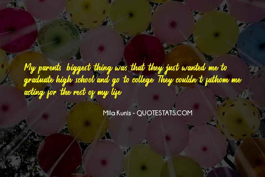 Mila Kunis Quotes #1446727