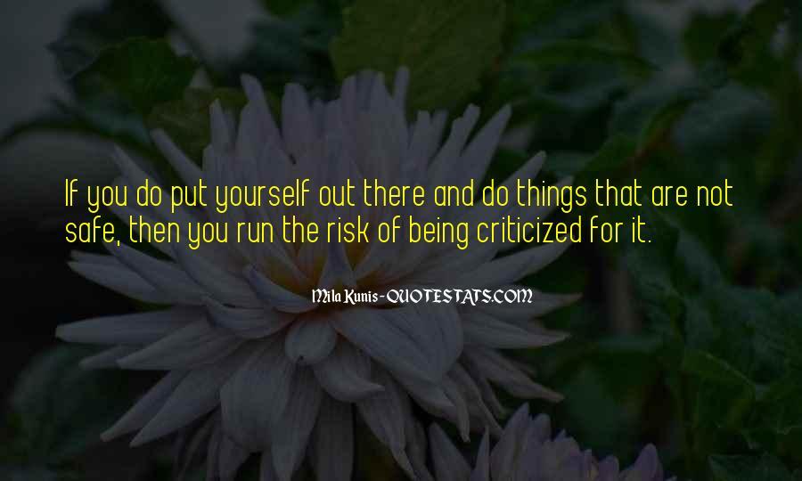 Mila Kunis Quotes #1724225