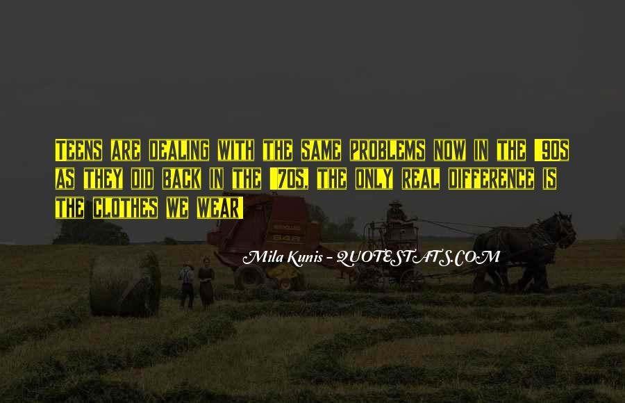 Mila Kunis Quotes #536825