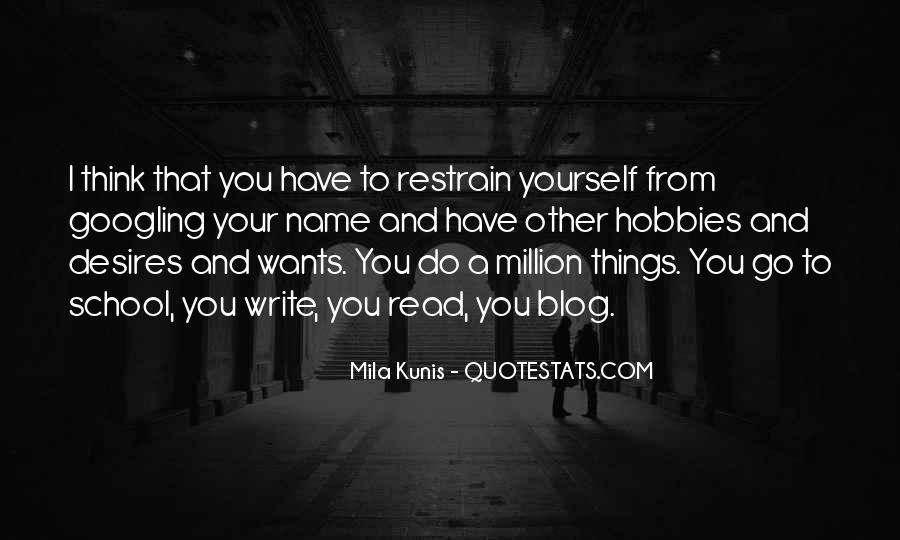 Mila Kunis Quotes #593070