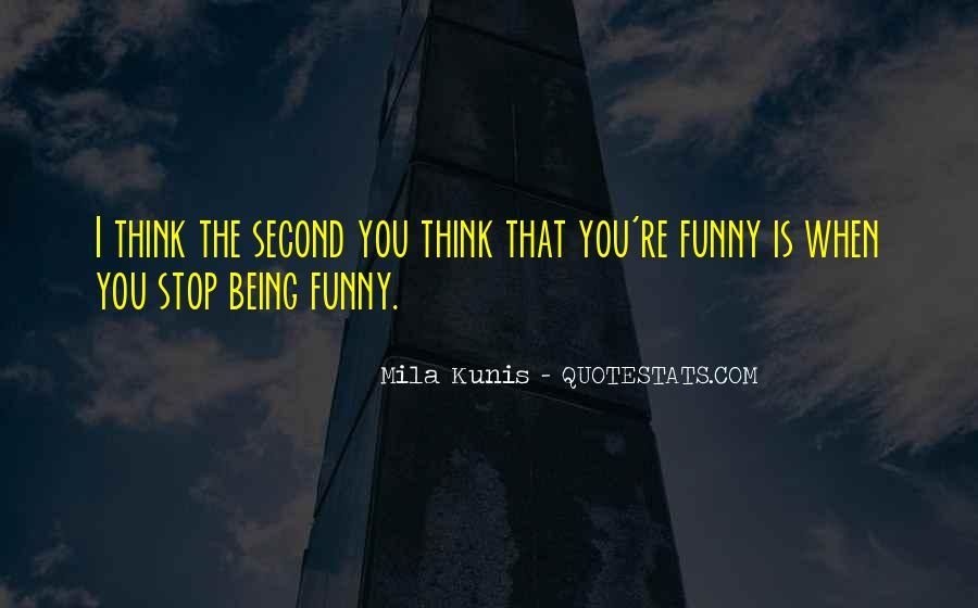 Mila Kunis Quotes #666193