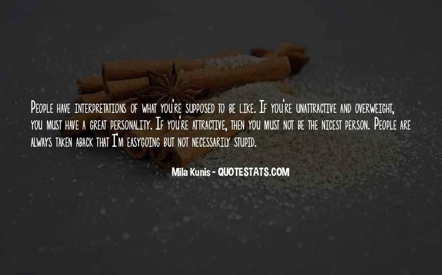Mila Kunis Quotes #870634