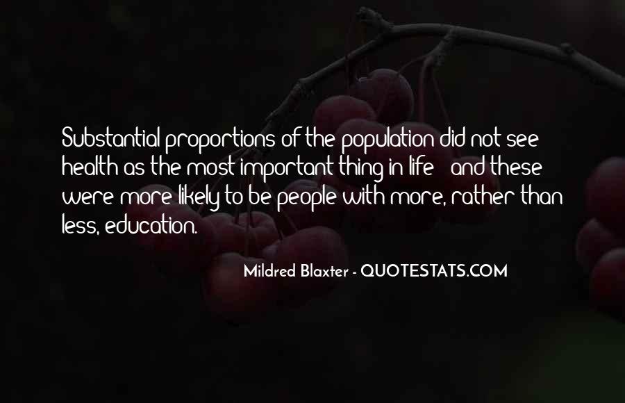 Mildred Blaxter Quotes #1372987