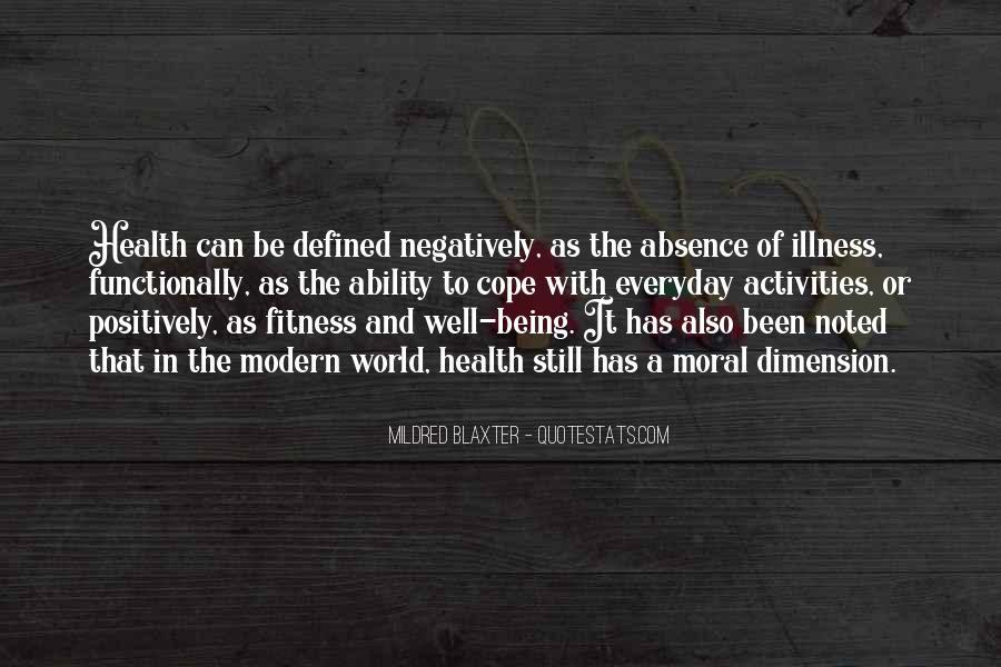 Mildred Blaxter Quotes #1581947