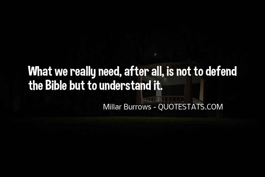 Millar Burrows Quotes #1146667