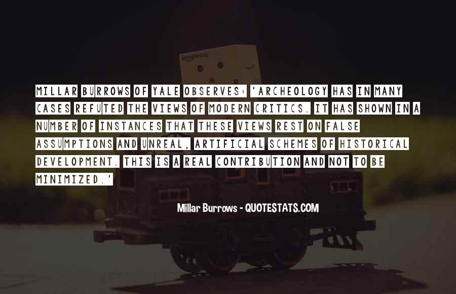 Millar Burrows Quotes #682305